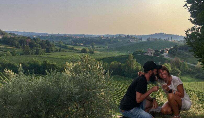 mangiare nelle colline del Prosecco