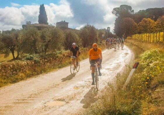 l'Eroica a Gaiole in Chianti